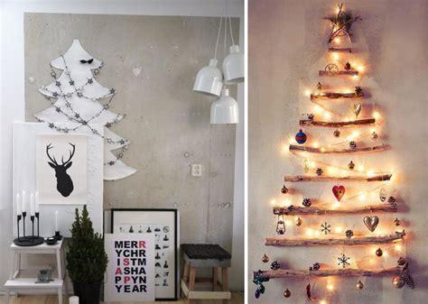 arboles de navidad de pared la decoracin de navidad en