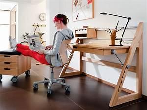 Schreibtisch Kinder Höhenverstellbar : schreibtisch kinder buche dekoration bild idee ~ Lateststills.com Haus und Dekorationen