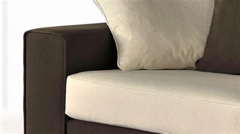 canapé d angle marron pas cher canapé d 39 angle en microfibre bicolore marron et blanc pas cher