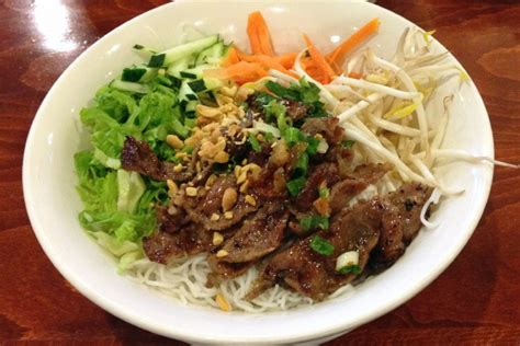cuisine food photo grilled beef vermicelli from restaurant dorchester ma boston 39 s restaurants