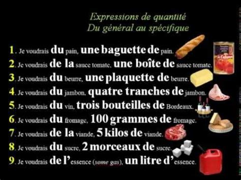 French Lesson 100  Adverbs Of Quantity Intensity Degre