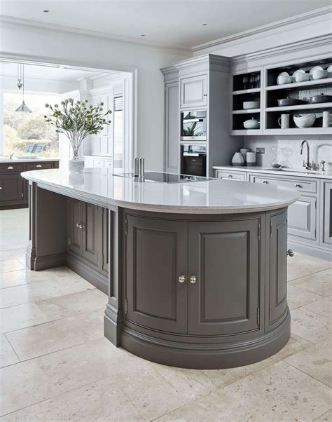 curved kitchen islands curved grey island tom howley 3045
