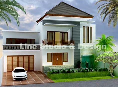 desain rumah minimalis  lantai lebar  meter disclosing