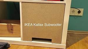 Ikea Box Kallax : ikea hack kallax expedit subwoofer 1 3 youtube ~ Orissabook.com Haus und Dekorationen