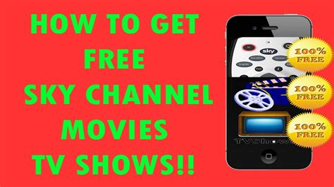tv shows on iphone how to get sky channels and tv shows on your