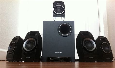 creative labs inspire   speaker system review