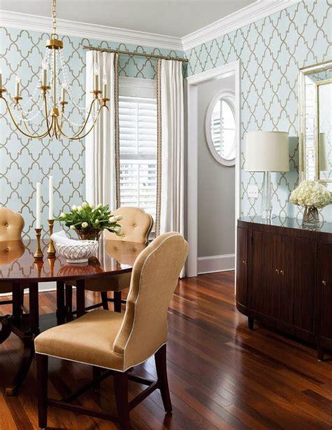 ideas  dining room wallpaper  pinterest
