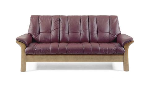 Low Back Reclining Sofa by Stressless Stressless Low Back Reclining Sofa