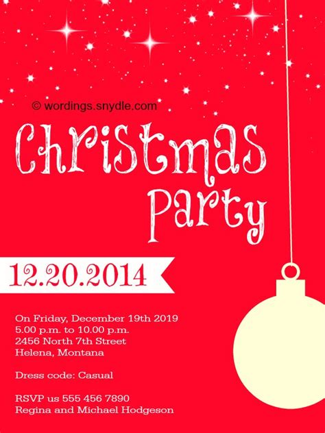 best 28 christmas wording for invitations christmas