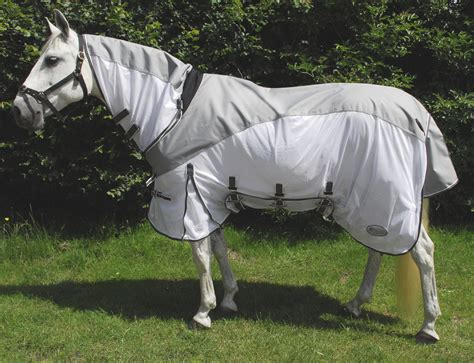 fly rug waterproof neck horse rugs rhinegold topline masai sheet combined horses sheets summer pony tack exchange