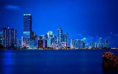 Vice Wallpapers Miami Night Panorama