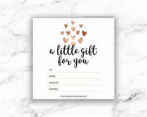 Free Access Templates For Small Business Printable Rose Gold Hearts Gift Certificate Template