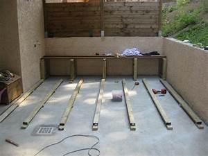 Pose Lame De Terrasse Composite Sans Lambourde : terrasse bois pas a pas le blog de g et aur l ~ Premium-room.com Idées de Décoration