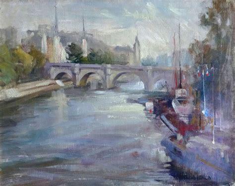 Skats no tilta - Mikhailenko Nina - Klasiskās mākslas galerija ANTONIJA