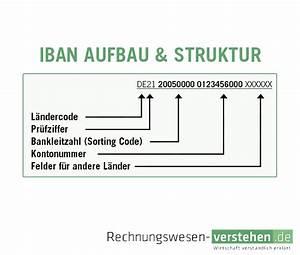 Iban Nr Berechnen : iban einfache definition erkl rung lexikon ~ Themetempest.com Abrechnung