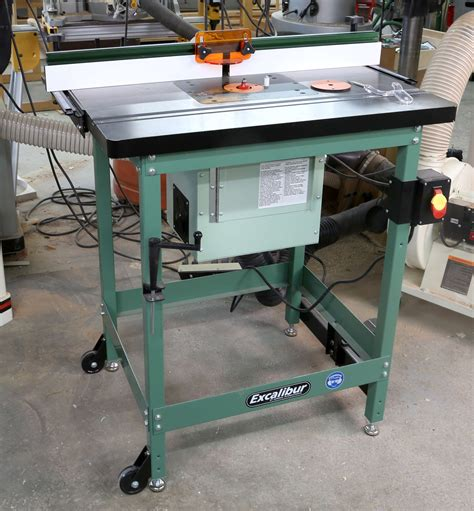 excalibur deluxe router table review     kit