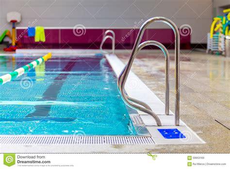 Indoor Swimming Pool Stock Image. Image Of Healthclub
