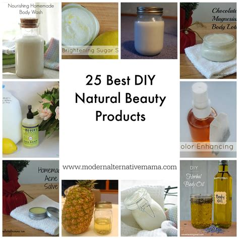 25 Best Diy Natural Beauty Products Modern Alternative Mama