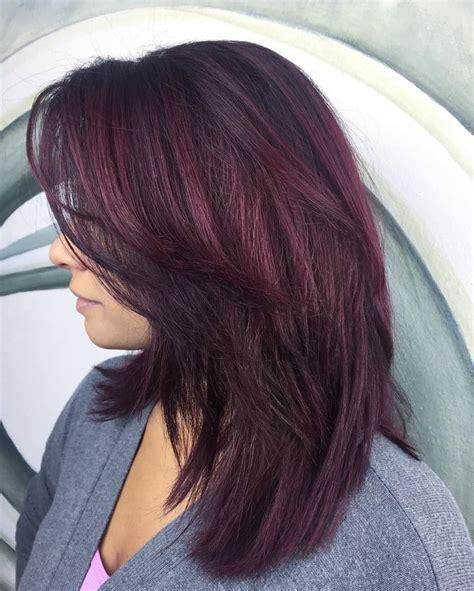 best 25 burgundy plum hair ideas on plum hair