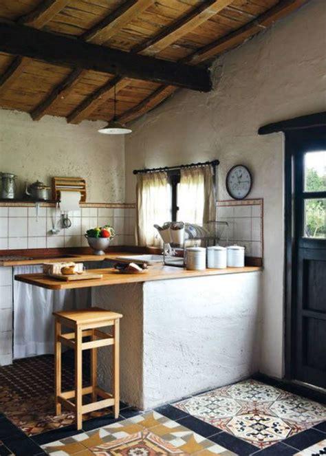 azulejos rusticos cocina rural cocinas pinterest