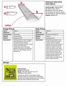 Pdf Manual For Schecter Guitar Hellraiser Solo 6
