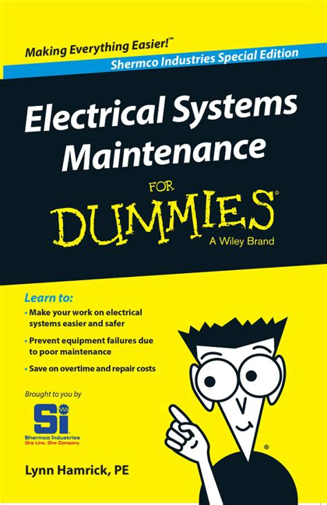 electrician for dummies fear not electrical systems maintenance for dummies now