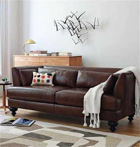 Living Room Ideas Brown Sofa Uk by Brown Sofas Completing Design Of Living Room With Wooden