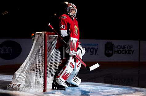 Anders nilsson retires due to concussions, neck problems. Ottawa Senators: Give Anders Nilsson More Starts In Net