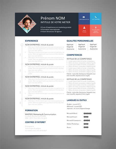 Modele Cv Original by Cv Original Marketing