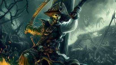 Pirate Wallpapers Skull Fantasy Wallpapersafari