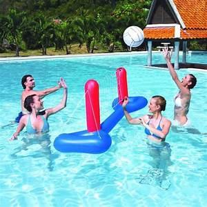 Jeu De Piscine : bestway jeu de volley gonflable avec ballon pour piscine ~ Melissatoandfro.com Idées de Décoration