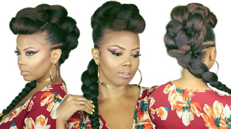 30+ Top Mohawk Hairstyles For Black Women