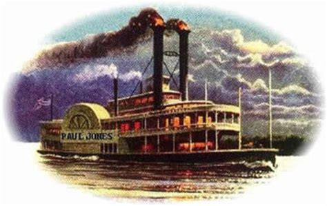 Barco A Vapor Steamboat by The Beguinning Of The Industrial Revolution The