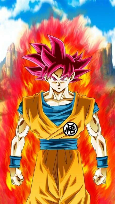 Goku ssj dios Goku desenho Desenhos dragonball Animes