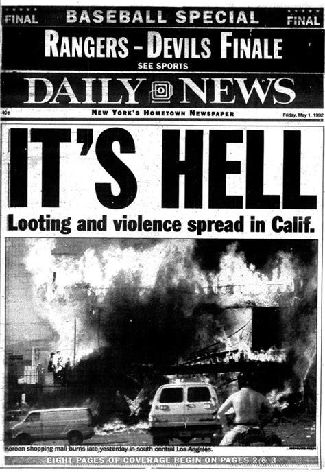 la riots turn  city  angels   city  flames