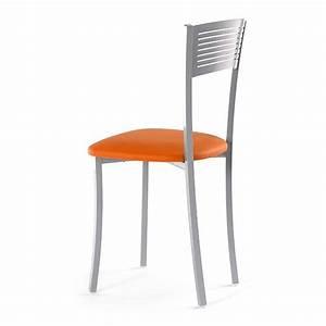 Chaise de cuisine en metal wapa 4 pieds tables for Deco cuisine avec acheter chaises de cuisine