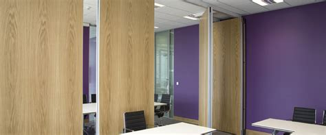 acoustic sliding folding partition movable wall