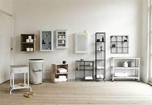 Meuble Rangement Salle De Bain But : id es rangement salle de bains 35 solutions originales ~ Dallasstarsshop.com Idées de Décoration