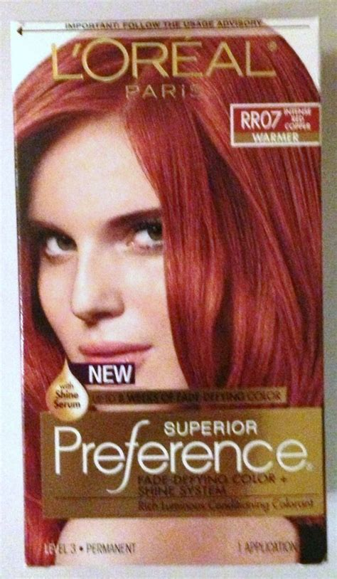 details  loreal paris superior preference hair dye
