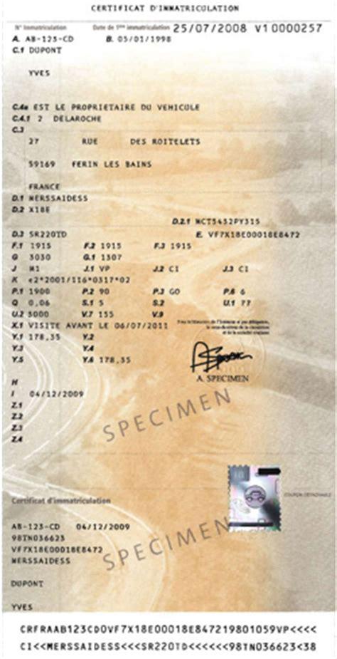 duplicata carte grise scooter acheter utilitaire imprimer la demande de certificat d immatriculation