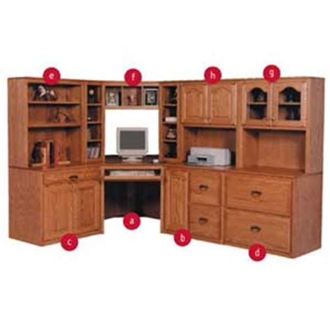 simply amish classic classic office collection becker