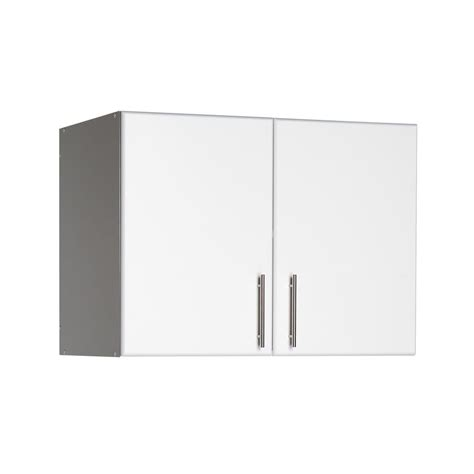 Cabinet 48 X 32 by Prepac Elite 32 In Wood Laminate Cabinet In White Wew