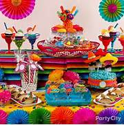 Decorating With Fiestaware Caribbean Buffet And De Mayo On Pinterest