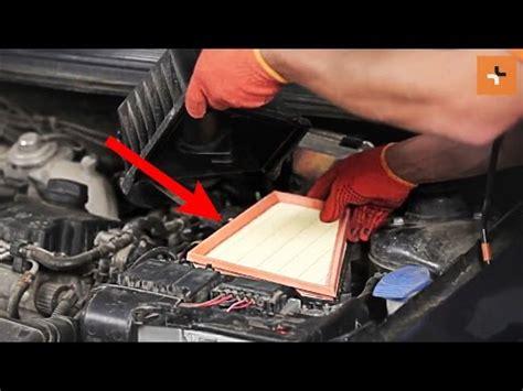 cambiare le filtro daria motore skoda roomster