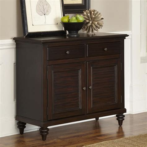 Contemporary Buffets And Sideboards by Home Styles Bermuda Espresso Dining Buffet Brown