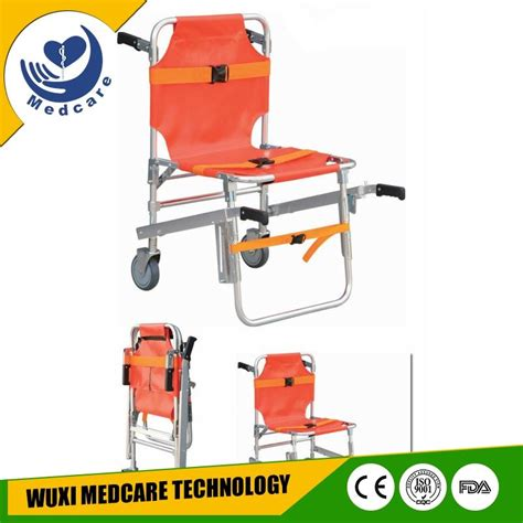 mtst1 hospital emergency folding chair stretcher with ce