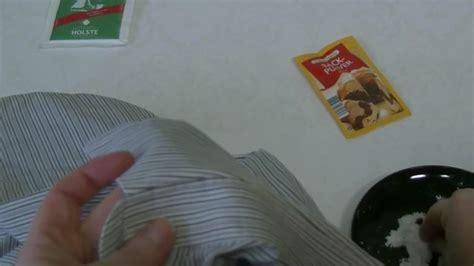 video waesche entfaerben mit backpulver