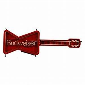 Budweiser Guitar Neon Sign