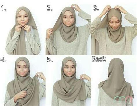 tutorial fashion hijab simple pashmina tutorial hijab
