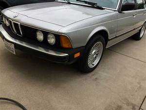 1984 Bmw 733i Rare 5-speed Manual  E23